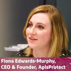 female founder fridays dr fiona edwards murphy apisprotect