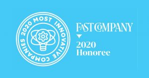 Fast Company most innovative company list 2020 logo