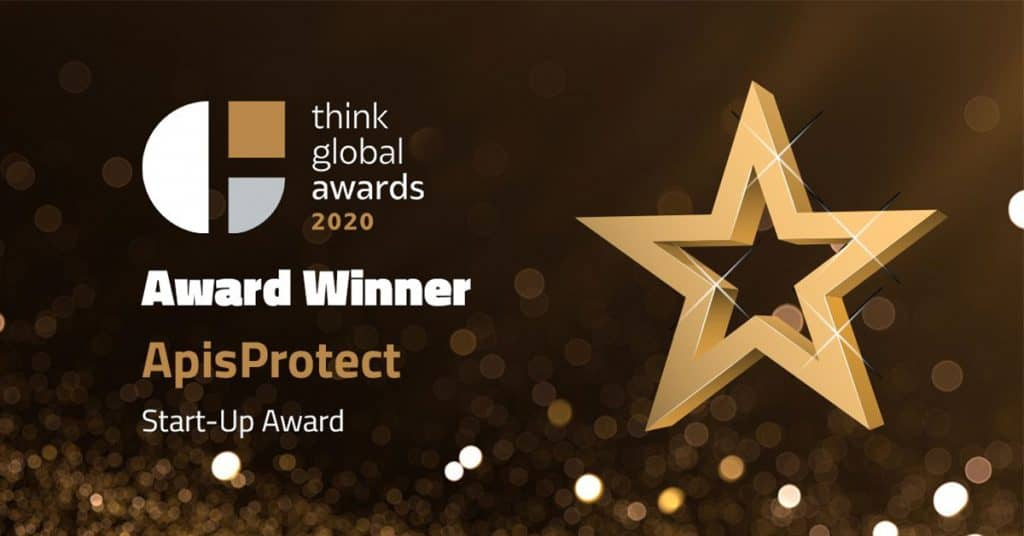 ApisProtect win Start-Up Award at Annual Think Global Awards