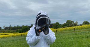 ApisProtect-Beekeeper-installing-Remote-Bee-Hive-Monitor